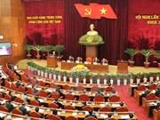 越共第十一届中央委员会第十次全体会议在河内开幕
