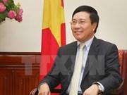 越南政府副总理兼外长范平明:2014年的外交活动富有成效