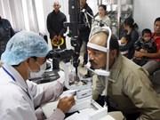 国际奥比斯组织在越南承天顺化省资助展开多个眼保健项目