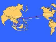亚美海底光纤电缆系统再次被断裂