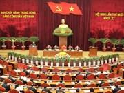 越共第十一届中央委员会第十次全体会议进入第三天