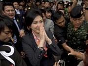泰国家立法议会今日就弹劾英拉举行听证