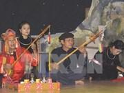 越南对莱州、河江两省的少数民族同胞进行有关非物质文化的培训