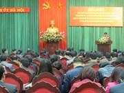 越南河内市委扎实落实好越共中央政治局3号指示令