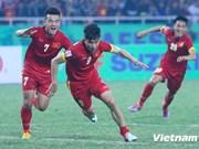 FIFA最新排名:越南男足升4位居世界第133位