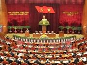 越共第十一届中央委员会第十次全体会议进入第六天
