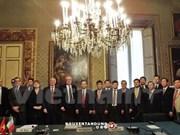 越南与意大利加强金融领域合作