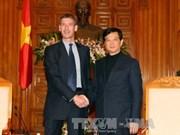 越南政府总理会见英国新任驻越大使