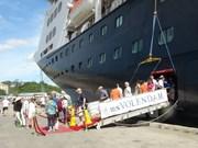 越南庆和省迎来两艘国际邮轮