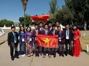越南河内市表彰国际初中科学奥林匹克比赛获奖学生