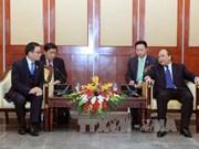越南政府副总理阮春福会见老越友好协会代表团