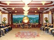 越南公安部与老挝安全部加强合作