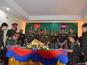由越南援建的柬埔寨军事历史研究院工程项目正式落成