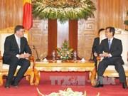 越南政府总理会见丹麦贸易与发展合作大臣