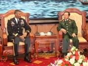 美国陆军太平洋司令部司令访问越南
