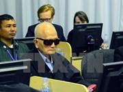 柬埔寨继续开庭审理两名前红色高棉领导人