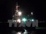 在黄沙海域遇险的8名平定省渔民获救