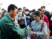 越南同奈省FDI企业为工人回家过年创造便利条件