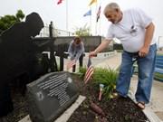 越美退役军人促进两国友好关系