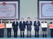 越南政府总理公布达到新农村建设标准的首两个县级单位