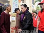 越南红十字会为广南省优抚对象和贫困户免费看病送药