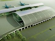 越南海防市吉碑国际机场航站楼工程正式动工兴建