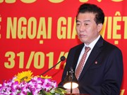 越朝举行友好见面会 庆祝两国建交65周年