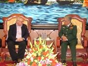 越南国防部副部长会见美国前驻越大使
