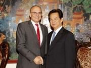 越南加强与梅克伦堡-前波莫瑞州的合作关系