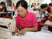 向韩国推广越南纺织成衣
