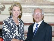 加强越南与美国华盛顿州的合作关系