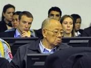 柬埔寨特别法院开庭审判四名红色高棉前首领