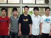 2011年国际奥林匹克竞赛越南队荣获8个奖牌