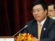 越南外长范平明与中国外长杨洁篪举行会谈