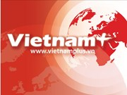 越共中央经济部长阮文平会见韩国国际合作机构副主席薛庚勋