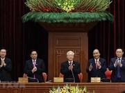 组图:阮富仲同志当选越共第十三届中央委员会总书记