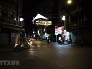 组图  :河内和胡志明市减少人员流动和聚集  各条街道人迹罕至