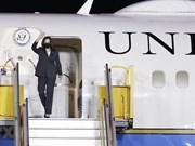 组图:首位美国副总统访问越南