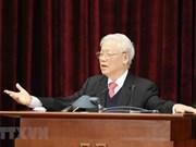 组图:越南共产党第十二届中央委员会第十四次全体会议圆满落幕