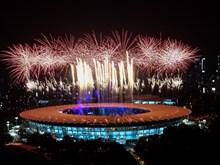 精彩纷呈的2018年雅加达亚运会开幕式(组图)