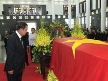 国际领导赴首都河内吊唁陈大光同志(组图)