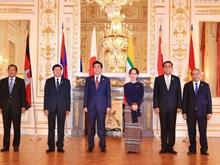 越南政府总理阮春福出席第十届日本与湄公河流域国家峰会(组图)