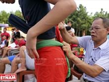 越南传统摔跤(组图)