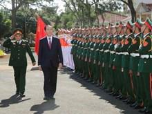 越南国家主席陈大光走访嘉莱省