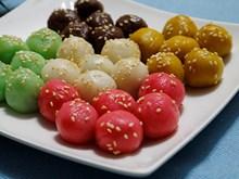 五色汤圆为越南传统寒食节增添色彩