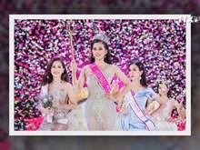 陈小微成功夺得2018年越南小姐大赛的后冠