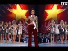 2018年环球小姐选美大赛:越南佳丽进入前五名