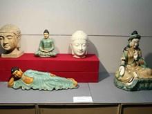 """""""古陶之美""""展览会在岘港市开幕(组图)"""