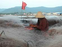乂安省的渔具生产业(组图)