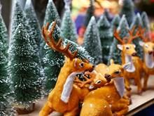 河内市民欢度2018年圣诞节(组图)